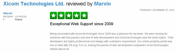 Check out the review posted by Mr Marvin here http://www.trustpilot.com/review/www.xicom.biz/527b458a000064000263830c