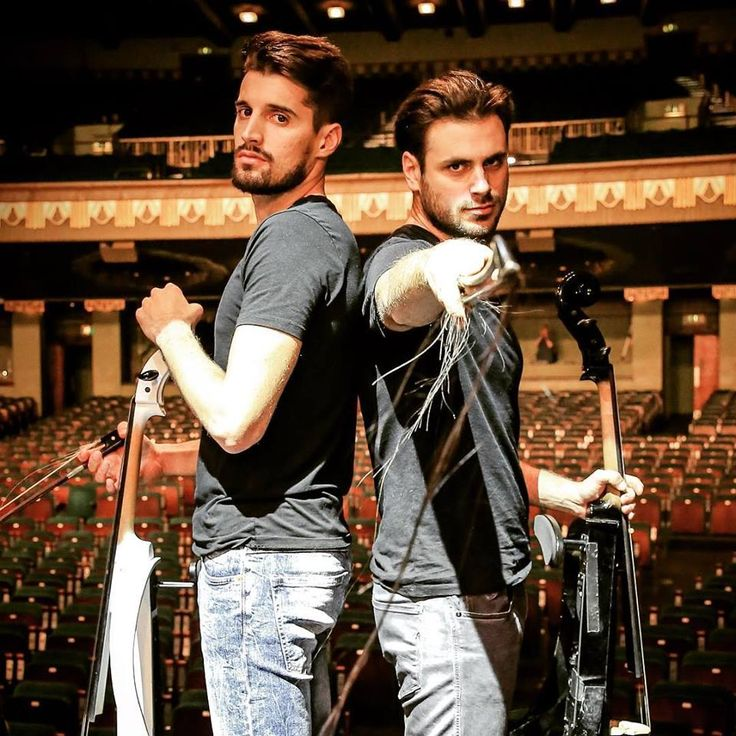 2Cellos Sulic&Hauser Famous Charmers Pinterest