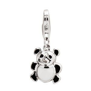 Sterling Silver Children's Enamel Teddy Bear Charm Amazon Curated Collection. Save 42 Off!. $29.00. Darling Diamonds feature rhodium plated sterling silver jewelry accented with stunning diamonds. Timeless designs your little girl will treasure for years to come. Made in China