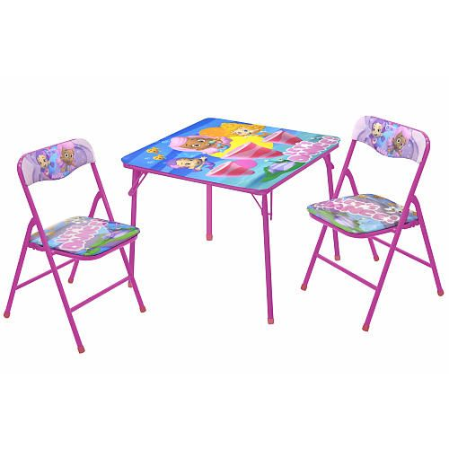 "Bubble Guppies Table and Chair Set - Idea Nuova - Toys ""R"" Us"