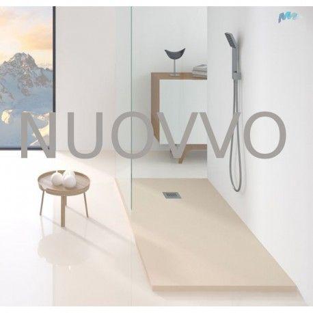 NUOVVO - #Plato de #ducha de #resina cuadrado #Nuovvo #Slate