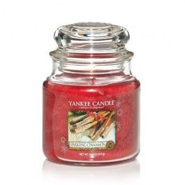 Yankee Candle Sparkling Cinnamon Medium Jar
