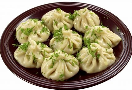 Manty is another popular USSR pelmeni-like dumplings. It is a traditional for Asian part of Russia and post USSR republics: Altay, Mongolia, Kazakhstan, Turkmenistan.
