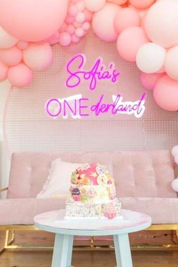 Onederland Birthday Party Ideas Photo 12 Of 16 Onederland Birthday Party Pineapple Birthday Party Girls Birthday Party Themes