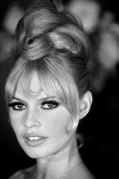 Brigit Bardot updo stands the test of time...She was so fabulous here
