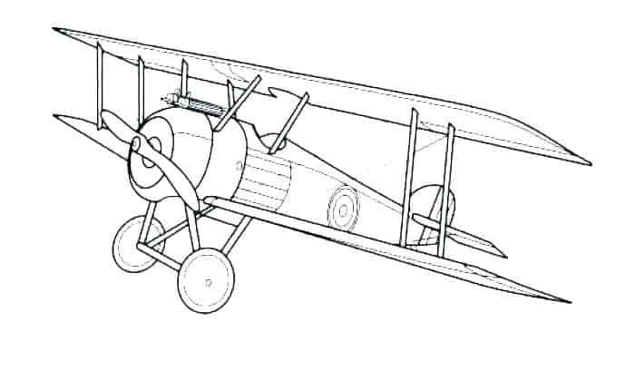 Airplane Coloring Pages In 2020 Airplane Coloring Pages