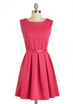 ModCloth - Dress in Haute Pink worn by Jess Day on New Girl. Shop it http://www.pradux.com/modcloth-dress-in-haute-pink-26649?q=s23