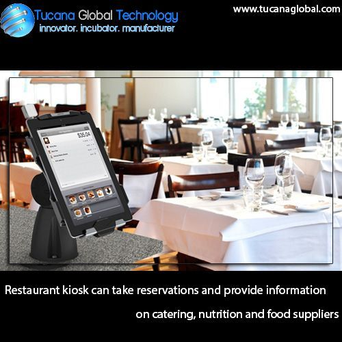 #Restaurant #kiosk can take #reservations and provide #information on #catering, #nutrition and #food #suppliers. #TucanaGlobalTechnology #Manufacturer #HongKong