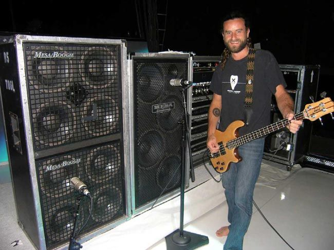 Justin Chancellor of TOOL
