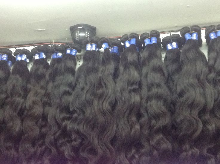 first grade human hair from the factory