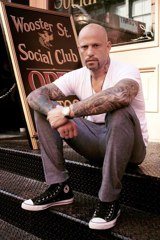 Ami James From The Reality Shows NY Ink & Miami Ink