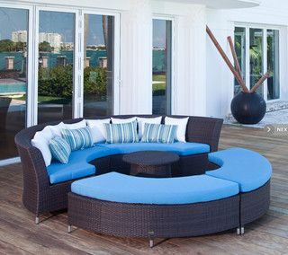Contemporary Outdoor Sofas