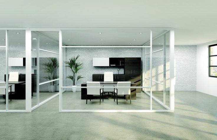 Mobilier de bureau exécutif avec murs amovibles SKY, par Artopex. http://www.mabprofil.qc.ca/mobilier-de-bureau.html