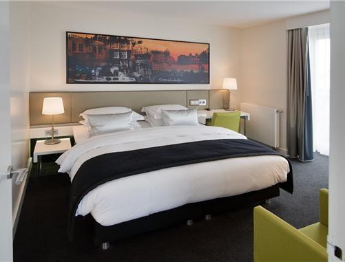 bedroom @ park hotel Amsterdam