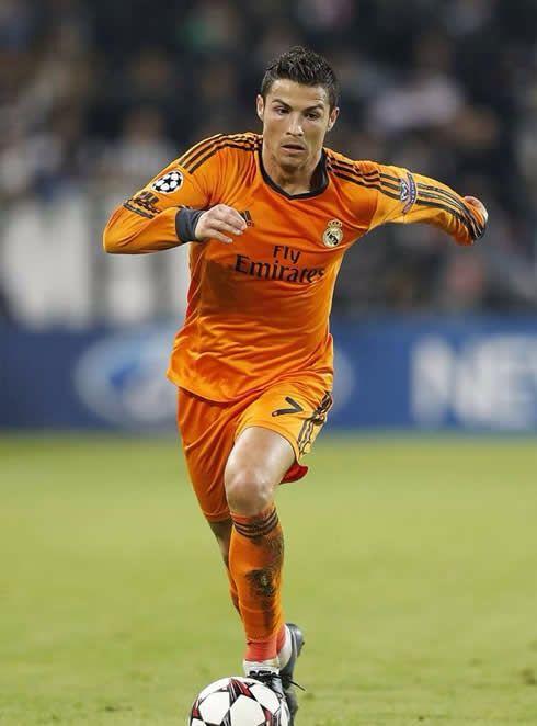 san francisco 1b66c 9df6a ronaldo orange jersey
