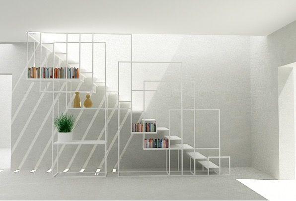 Escalier SQUARE STAIRCASE par Amir Zinaburg - Blog Déco Design