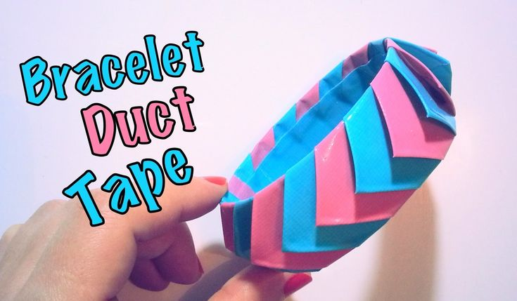 DIY Bracelet ruban adhésif Duct Tape