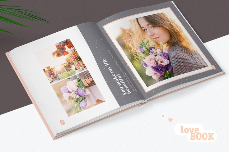 Photo Album Template - Pink - Photo Album Templates Free