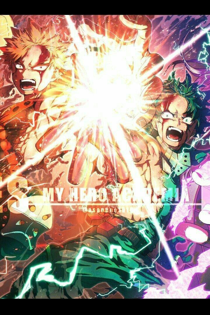 Midoriya Izuku Deku Bakugou Katsuki Heroes Rising My Hero Academia Boku No Hero Academia Anime My Hero Anime Wallpaper