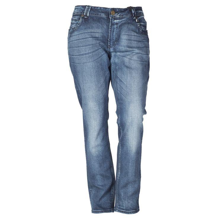 Mega cool Blå jeans med heavy vask fra Veto Veto Modetøj til Damer til enhver anledning