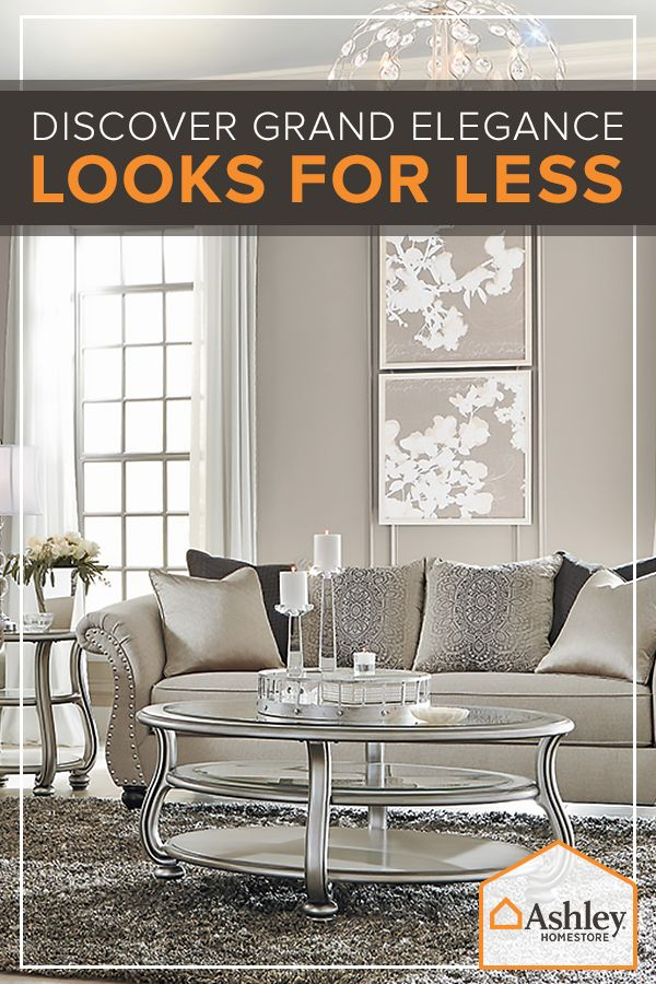 Introducing Ashley's Lifestyles: furniture and accessories for every taste - including yours. Explore the pallets of Urbanology, Vintage Casual, Contemporary Living, New Traditions or Grand Elegance and find just what you're looking for - all while staying under budget.