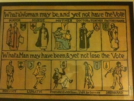 Facets of the Women's Suffrage Movement » Sociological Images