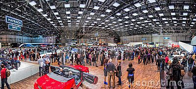 Geneva Motorshow 2012 - Exhibition Hall Panoramic