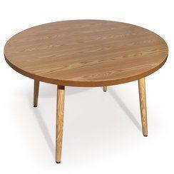 photo Table ronde scandinave Ines frêne