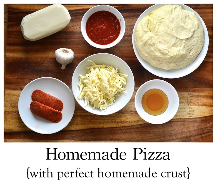 How to make homemade pizza with the perfect homemade pizza crust! {must try the honey garlic cheese pizza}