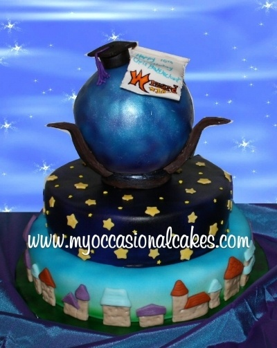 Wizard101 Cake By MyOccasionalCakes on CakeCentral.com