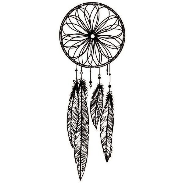 Catch Dreamcatcher Temporary Tattoo Set featuring polyvore fashion accessories body art tattoos fillers backgrounds art