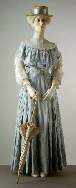 Jacques Doucet Traveling Day Suits | 1905 Summer Day Dress The Victoria & Albert Museum; 1905-1906 Evening ...