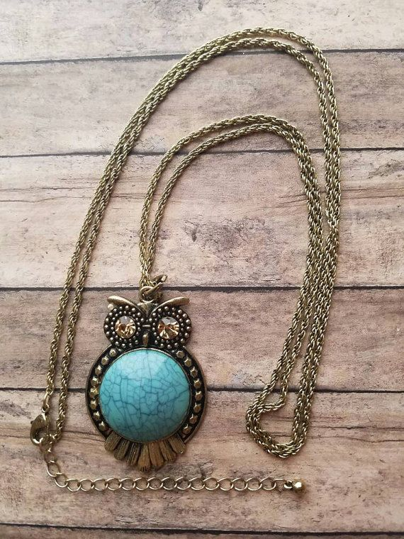 Entire clearance section is marked half off til 10/23/17! https://www.etsy.com/listing/507530601/turquoise-owl-necklace-long-necklace