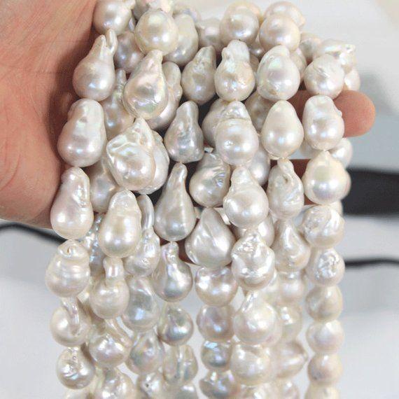 "Naturl 7-8mm Pink Akoya Cultured Pearl Loose Beads 15/"" Strand AA"