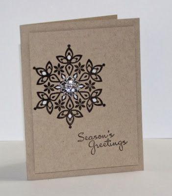 Jill's Card Creations: Season's Greetings