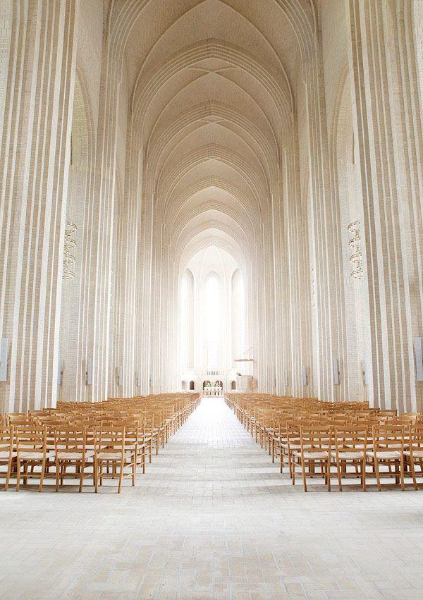 "csebastian: "" photographer: Johan Rosenmunthe I will never grow tired of Grundtvig's Church, Copenhagen, Denmark. PLASTOLUX ""keep it modern"" » Photographer Johan Rosenmunthe """