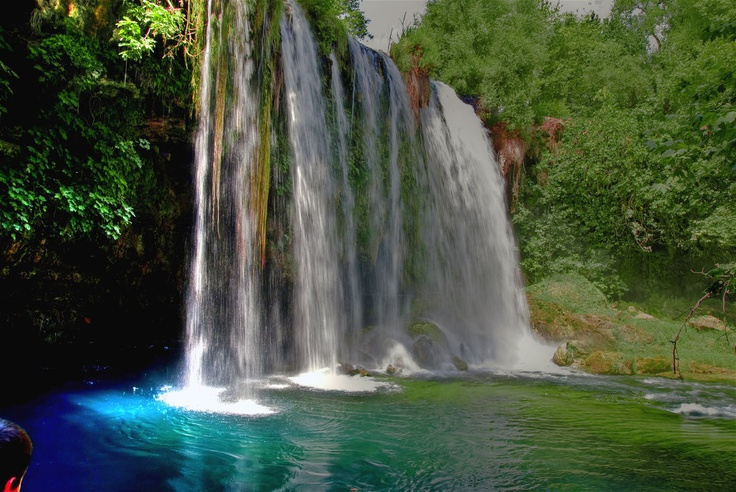 Düden waterfall - Antalya, Turkey