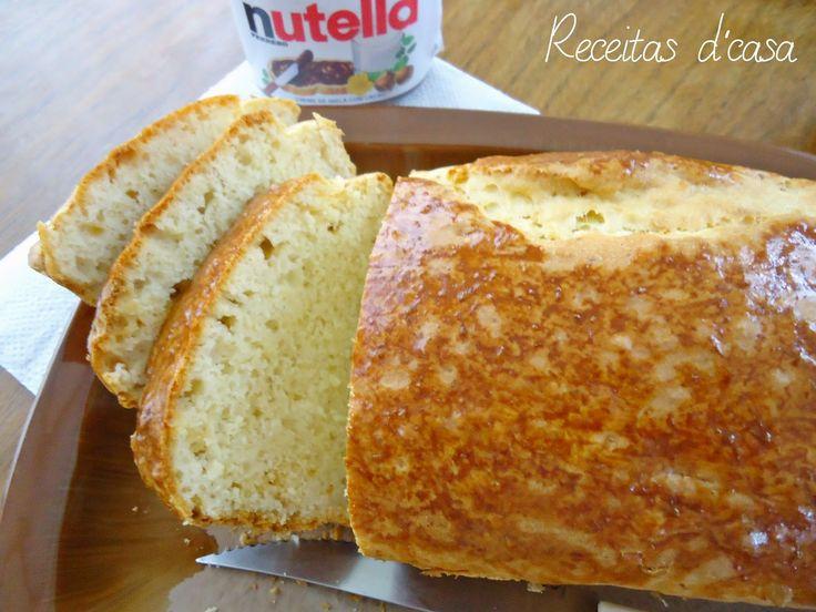 Receitas D'casa: Pão de Minuto com Iogurte # Dia mundial do pão