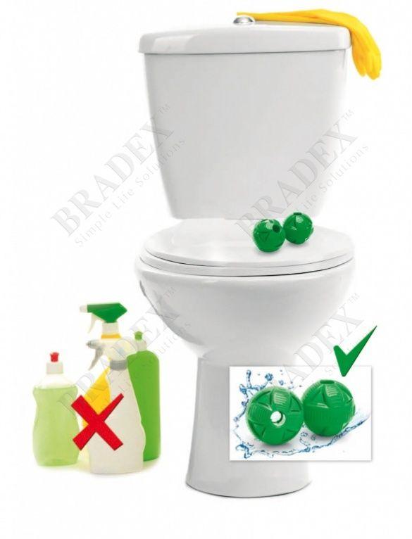 Шары магнитные для чистки туалета АРТИКУЛ: TD 0363 Жесткая вода оставляет налет на унитазе и на деталях бачка? Уже на следующий день после чистки унитаз перестает сиять? Вы не хотите вынуждать всю семью дышать удушающей химией? Инновационные магнитные шары для чистки туалета решат эту проблему. Во время набора воды в сливной бачок керамические частички внутри шаров ионизируют воду. При помощи магнитов отрицательные ионы кальция преобразуются в положительные, смягчая воду и препятствуя…