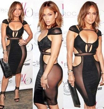 Jennifer Lopez celebrated her 46th birthday at a party in Southampton, NY, with boyfriend Casper Smart by her side. Jennifer raised eyebrows in a sexy nude dress after her 10-pound vegan diet weight loss.