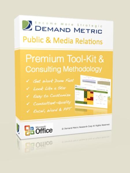 Public & Media Relations Methodology & Premium Tool-Kit