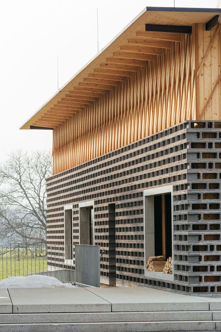 Oficina de fornos Müller | Arquitetura de madeira de Vorarlberg   – Werkstatt