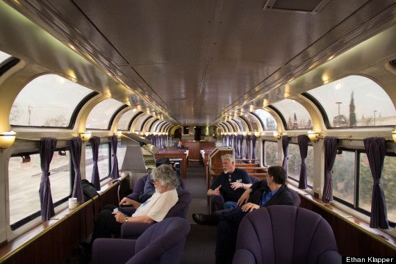 6 Reasons Why Long Distance Train Travel Is Worth It - Amtrak's westbound California Zephyr, a daily train between Chicago and the San Francisco Bay Area.