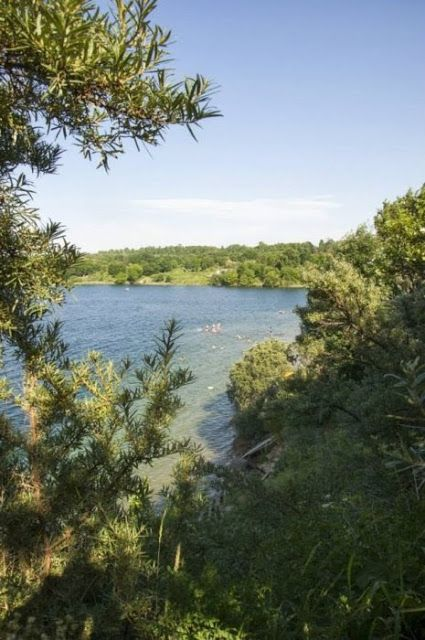 Jezioro Bursztynowe - przygotowania i przeprawa przez granicę