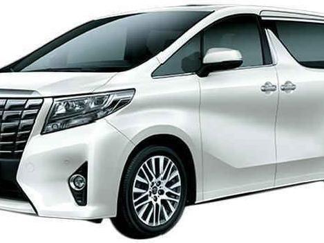 Hasil gambar untuk Toyota Alphard 2.5 G A/T Hybrid Mobil - White Pearl Crystal Shine
