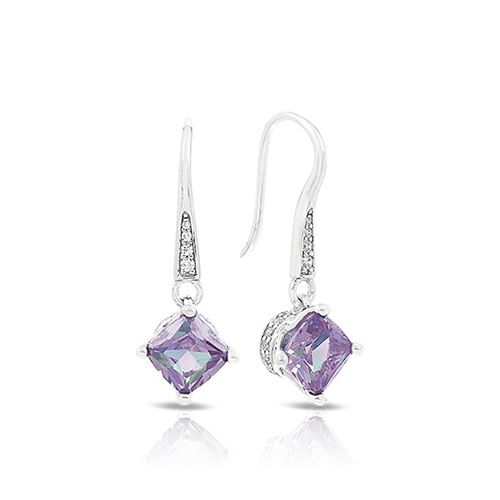 Belle Etoile Amelie Alexandrite Earrings available Michael Herr Diamonds & Fine Jewelry. Visit our St. Louis area store or contact us to order.
