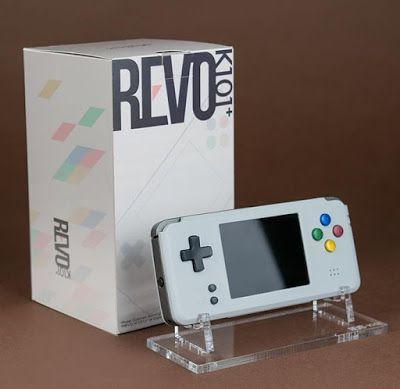 とんちき録: Rose Colored Gaming 【REVO K101】 発売日決定