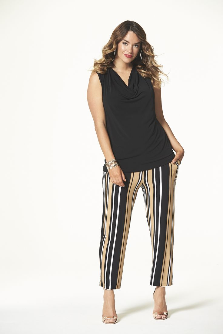 Wild Striped Culotte