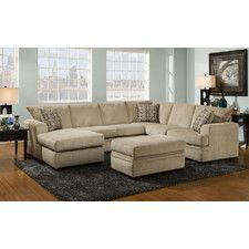 Found it at Wayfair - Cornell Sectional  sc 1 st  Pinterest : wayfair sectionals - Sectionals, Sofas & Couches