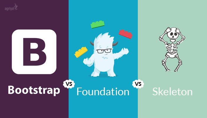 Best CSS Frameworks - #Bootstrap vs #Foundation vs #Skeleton?